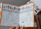 invitations d'anniversaire robots
