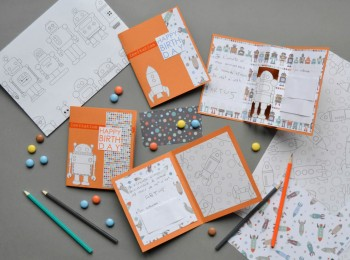 les invitations d'anniversaire à colorier