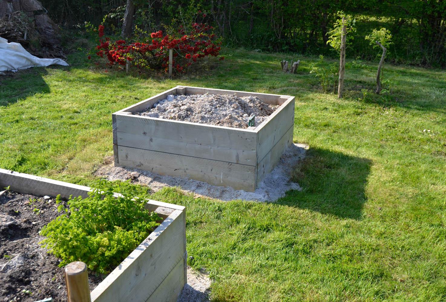 Faire un potager sur lev maman tout faire - Que peut on mettre dans un composteur de jardin ...