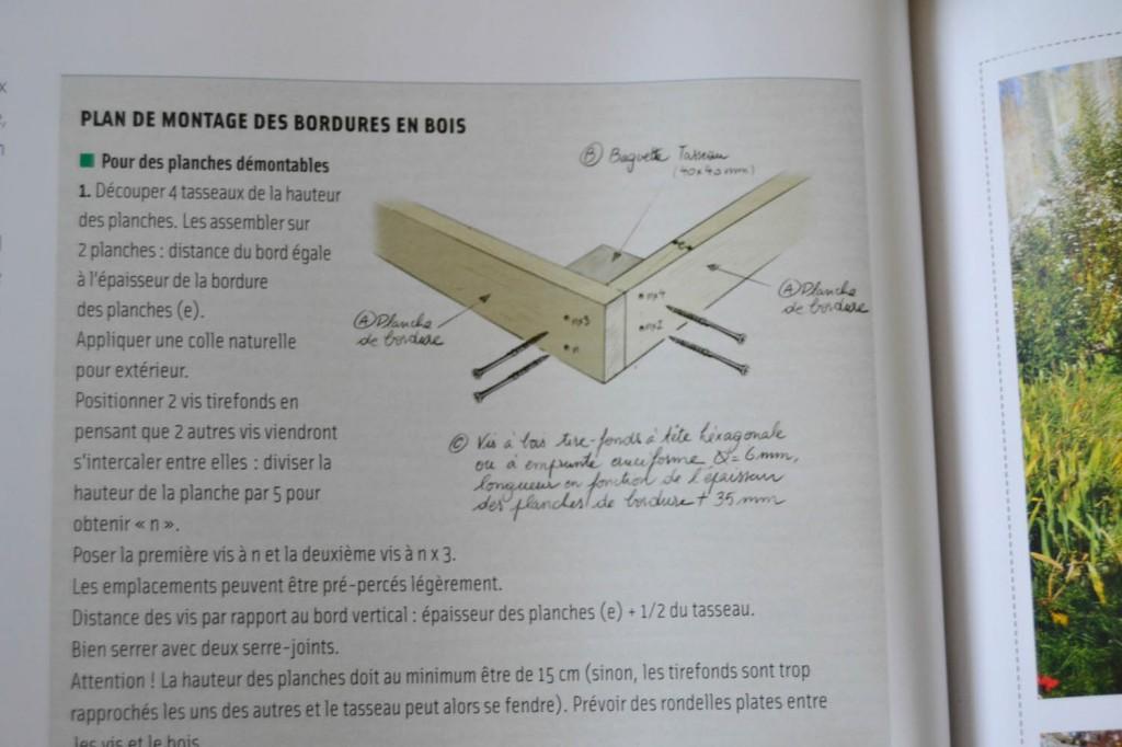 plan montage carré potager