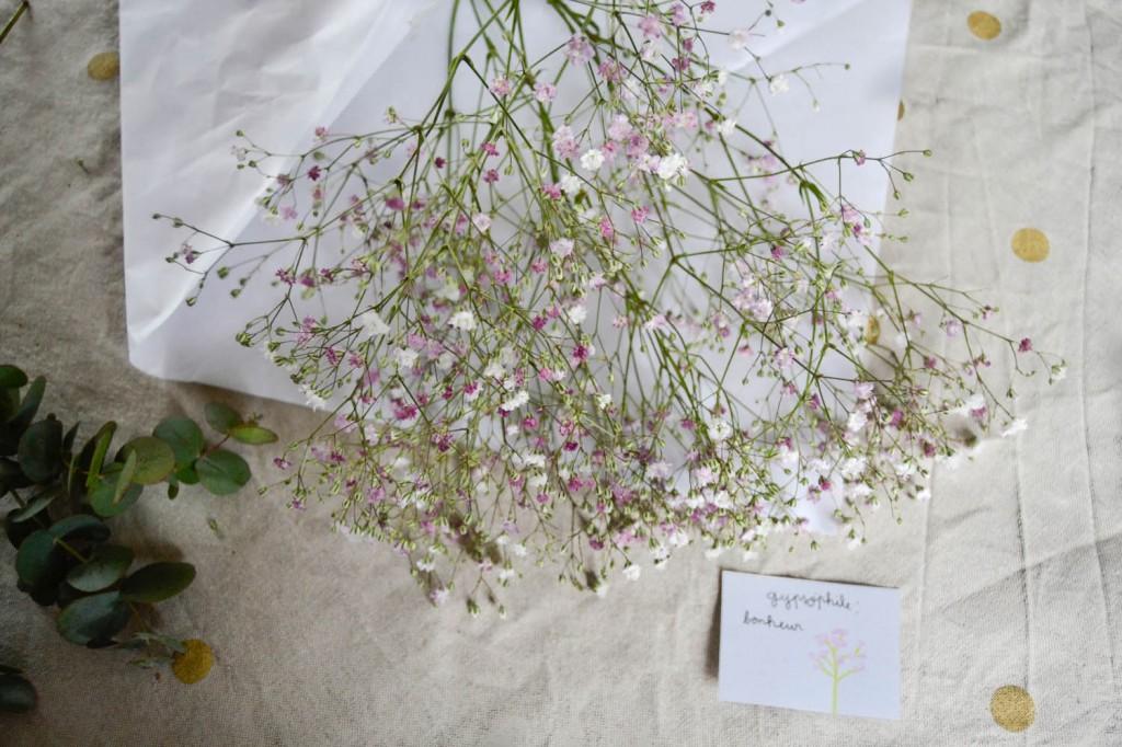 pochette surprise signification fleurs