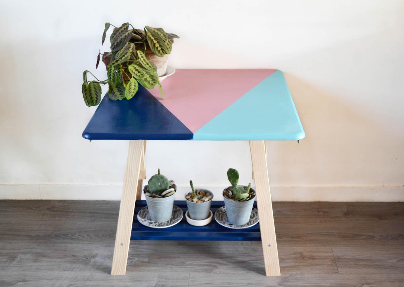 Transformer une table en porte plantes maman tout faire - Table plante ...