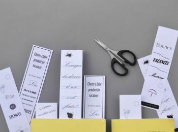 cadeaux des maîtresses - les marque-pages