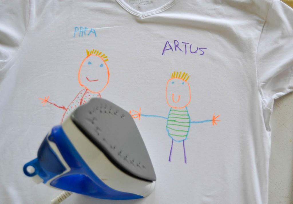 fête des pères tee-shirt personnalisé 3