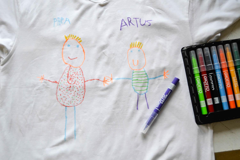 Tee shirt personnalis f te des p res maman tout faire - Faire tee shirt personnalise ...