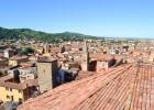 vue de Bologne du haut de la basilique
