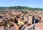 vue des toits de Bologne_