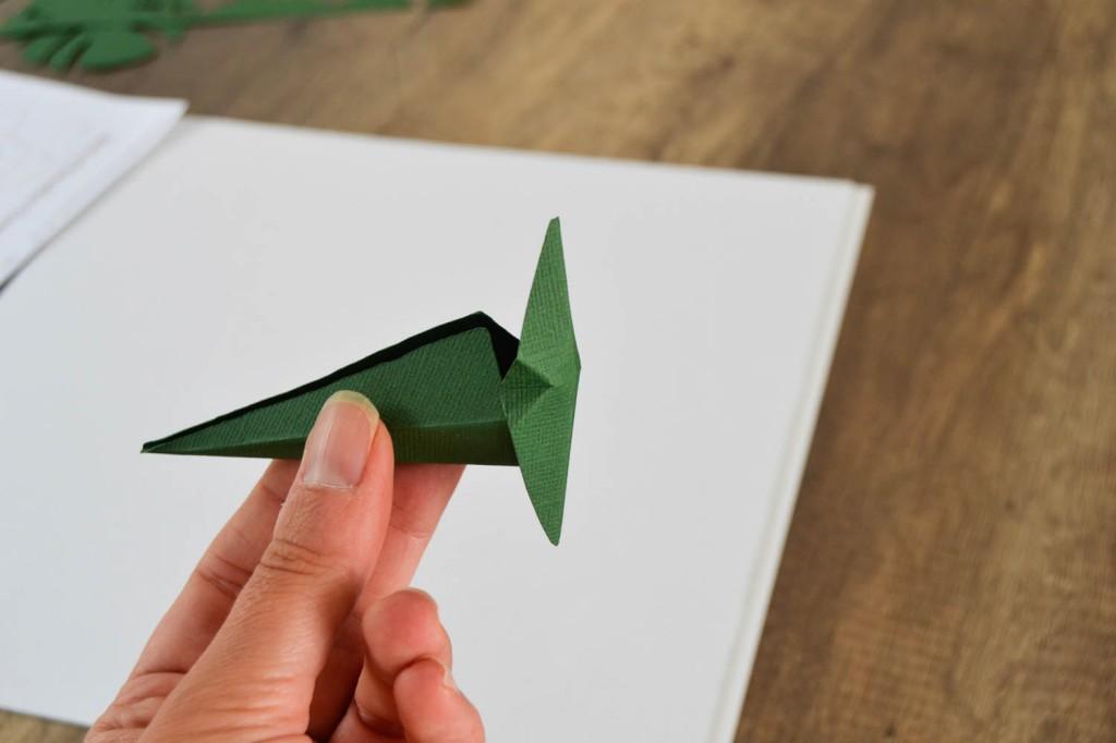 oiseau du paradis en papier 3