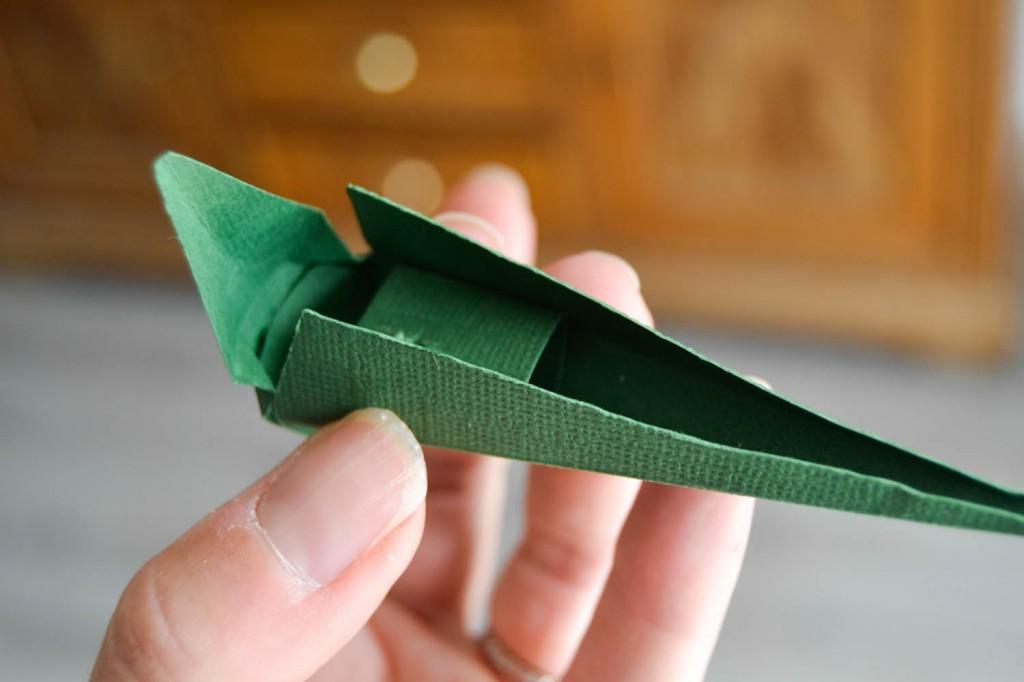 oiseau du paradis en papier 4