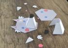 puzzle en papier 3 D