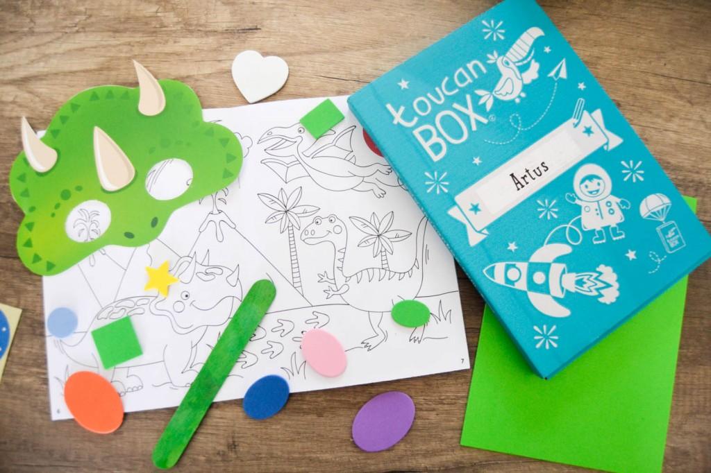 box activités pour enfants
