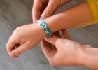 bracelet brésilien motif coeur