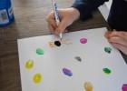 dessin peinture à doigt