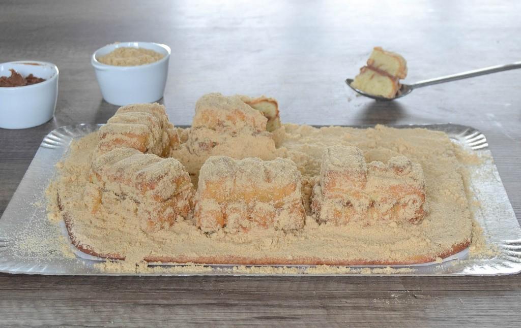 faire un gâteau château de sable