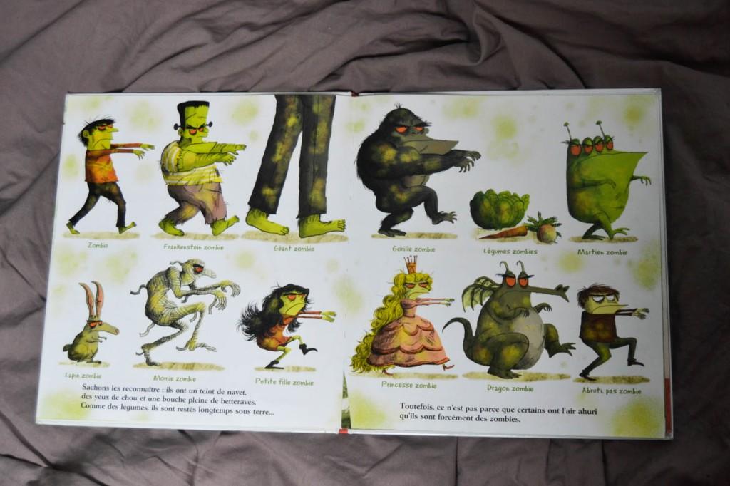 livre de zombies enfants
