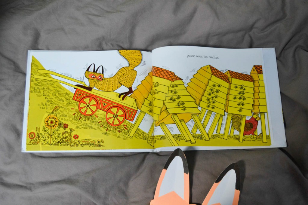 livre d'enfant renard