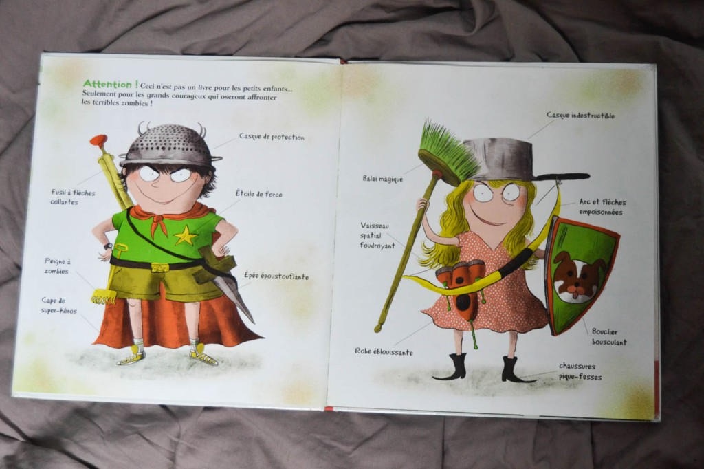 livre enfants zombies