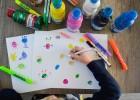 monstres peinture à doigt