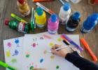 peinture à doigt monstres