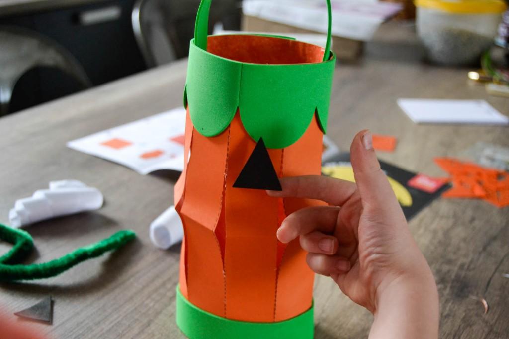 activité lanterne halloween