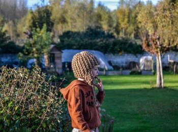 bonnet péruvien tricot