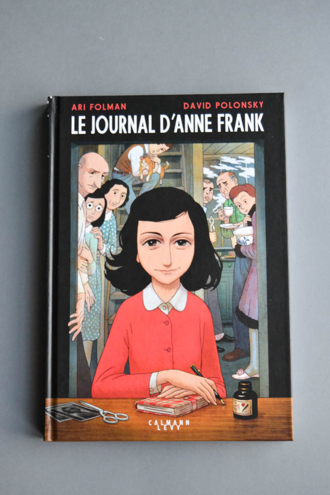le journal d'Anne Frank BD