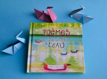livre poèmes au fil de l'eau