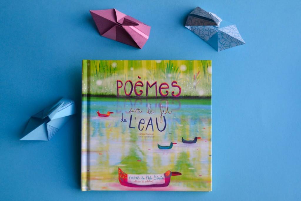 livre poèmes sur le fil de l'eau