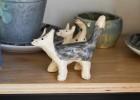 loup céramique