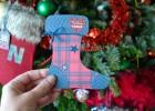 carte chaussette de Noël