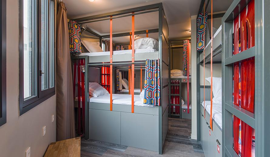 chambres auberge de jeunesse paris