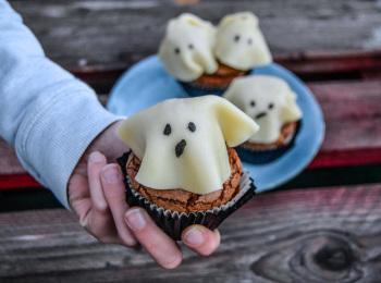les cupcakes fantômes