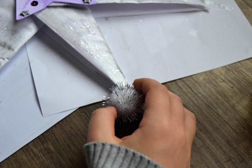 Etoile origami étape 6
