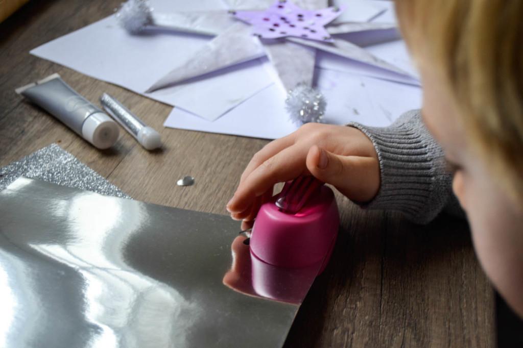 Etoile origami étape 7