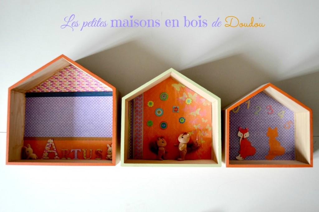 Petites Maisons En Bois Pour La Chambre Décoration Maman à Tt Faire