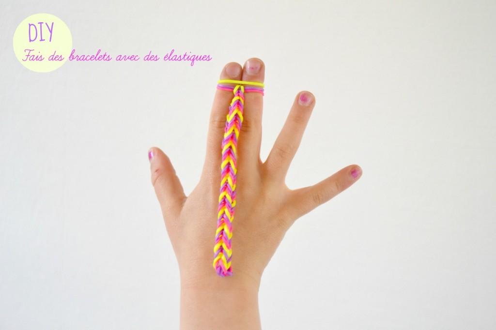 Faire un bracelet avec des élastiques et ses doigts ! Maman à Tt Faire 0418fe253b29