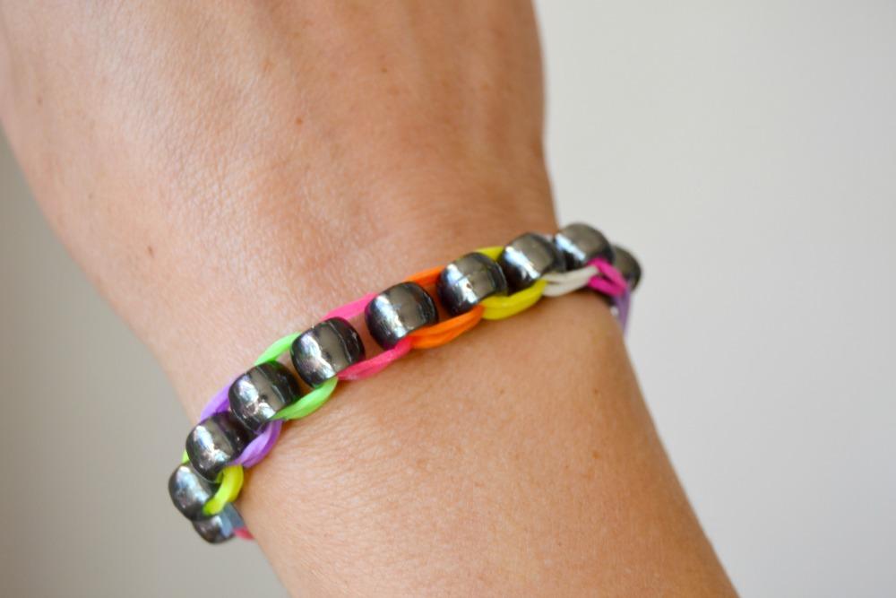 rainbow loom perles