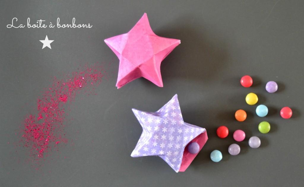 Boite à Bonbons Létoile En 3 D Maman à Tout Faire